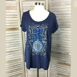 Lucky Brand Hand Top Sz L
